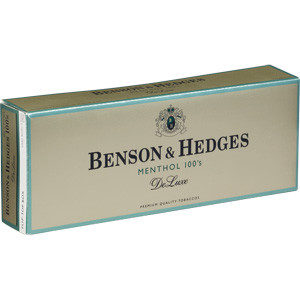 Benson & Hedges Menthol 100's DeLuxe (USA)